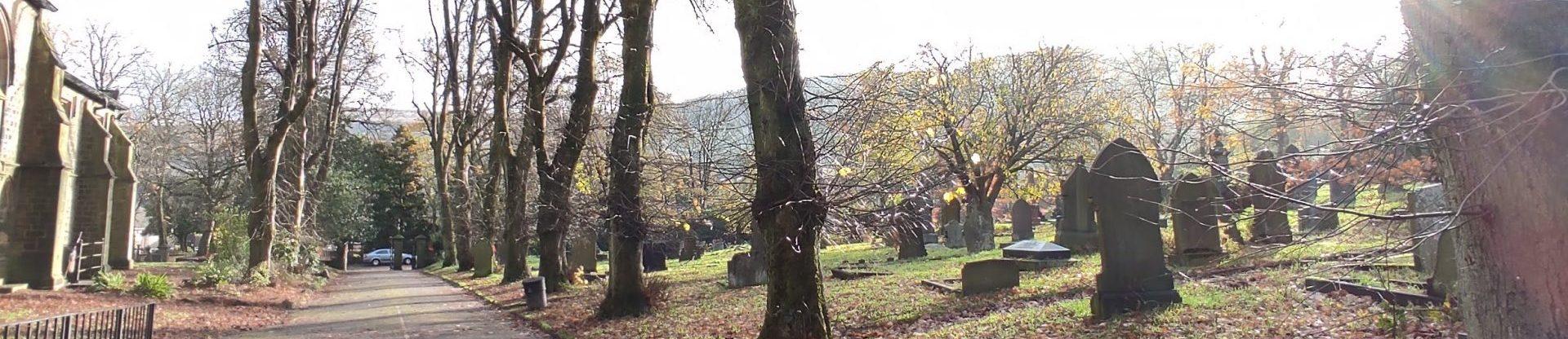 Churchyard banner